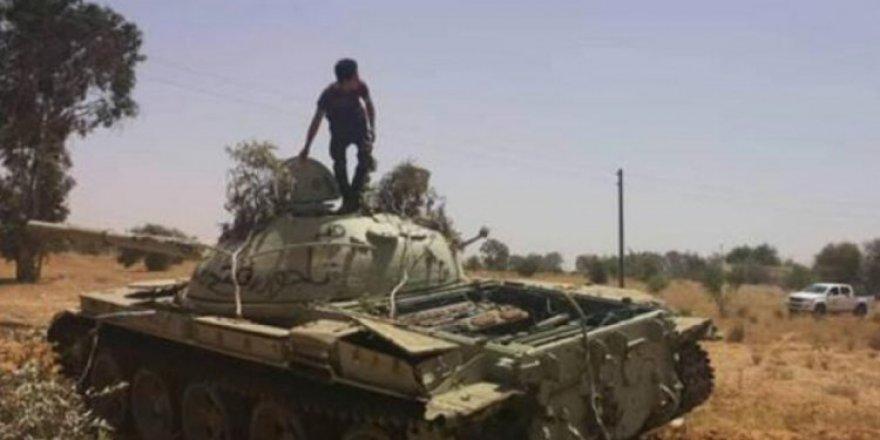 Sitre'de Hafter'e bağlı 10 milis 'Öfke Volkanı'nda' etkisiz hale getirildi