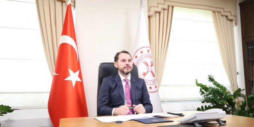 Hazine ve Maliye Bakanı Berat Albayrak'tan son dakika açıklaması
