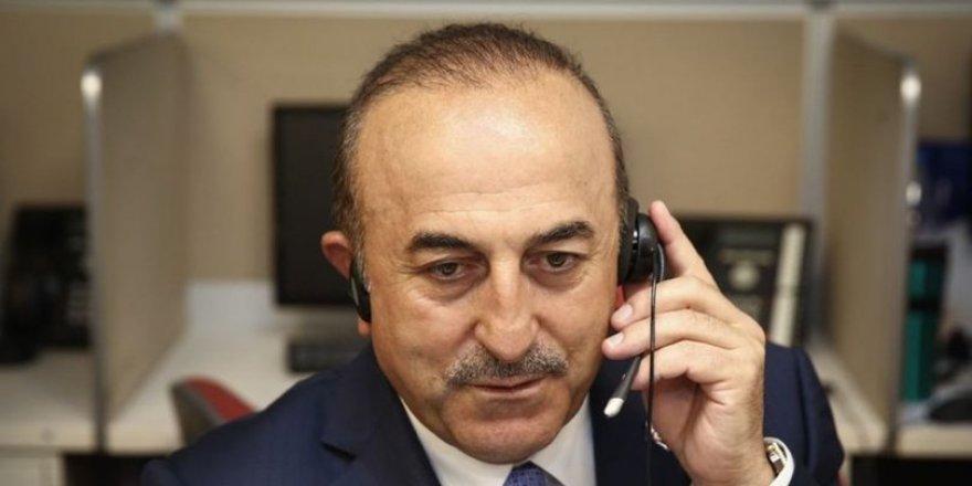 Dışişleri Bakanı Mevlüt Çavuşoğlu'ndan telefon diplomasisi