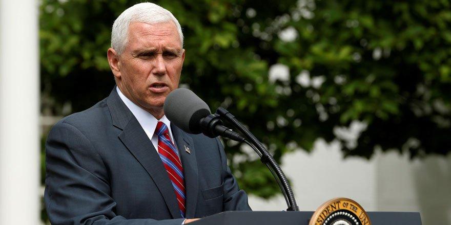 ABD Başkan yardımcısı Mike Pence ülkedeki vaka sayılarının arttığını açıkladı