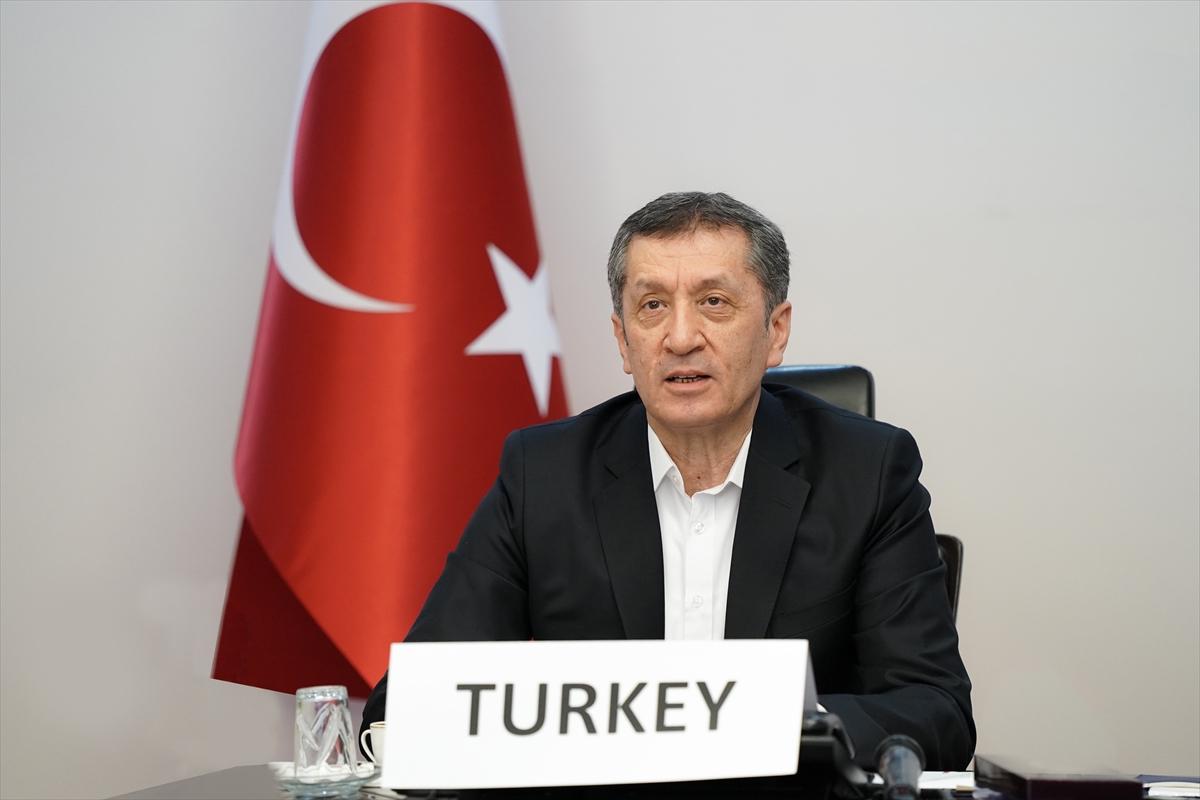 Milli Eğitim Bakanı Ziya Selçuk, Türkiye'nin Kovid-19 Tecrübelerini G20 Ülkelerine Anlattı