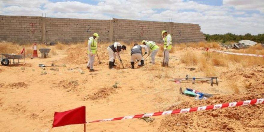 Libya'da ortaya çıkan toplu mezarlar BM'yi dehşete düşürdü