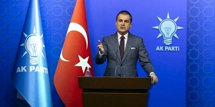 AK Parti Sözcüsü Çelik: Türkiye'nin terörle mücadelesi, dünyanın en haklı mücadelesidir