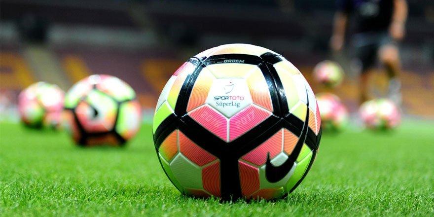 Süper Lig'de ve TFF 1. Lig'de haftanın programı bugün başlıyor
