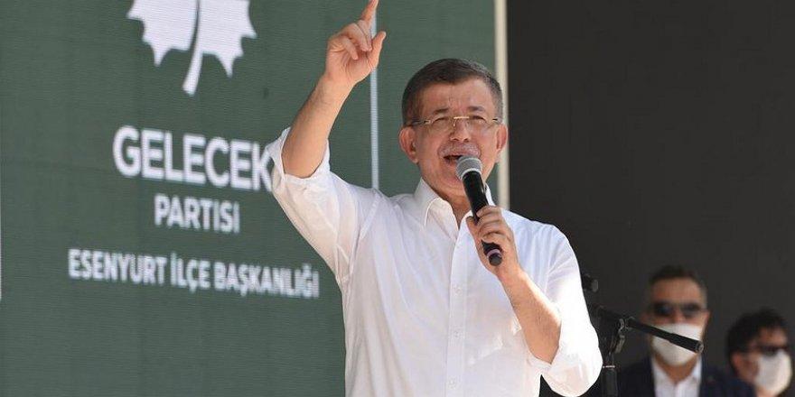 GELECEK PARTİSİ Genel Başkanı Ahmet Davutoğlu partisinin Esenyurt 1. Olan Kongresi'nde konuştu