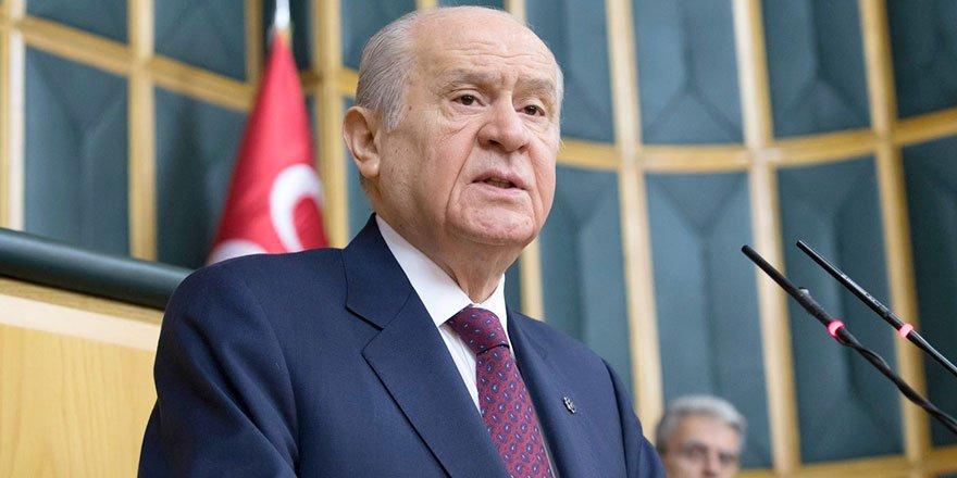 MHP Lideri Devlet Bahçeli'den barolara çok sert tepki!