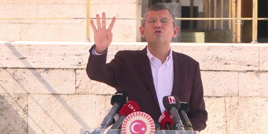 CHP Grup Başkanvekili Özel: Hukuk, adalet yoksa ekonomi de yok