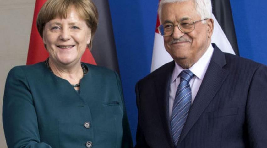 Merkel-Abbas ortak basın açıklaması: İsrail'e eleştiri!