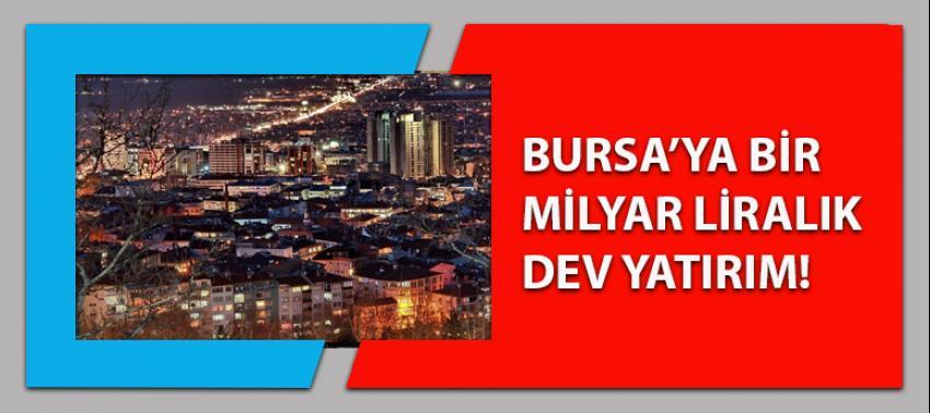 Bursa'ya 1 milyar liralık dev yatırım!