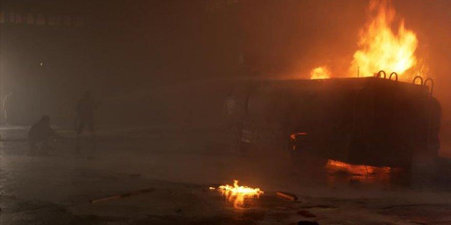 PKK/YPG Tel Abyad'daki bombalı terör saldırıda 6 masum sivili katlederken 11 sivili de yaraladı