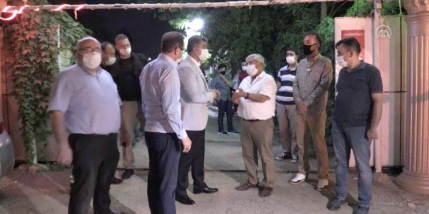 Gaziantep'te düğünlere Kovid-19 denetimine İl Emniyet Müdürü Zeybek de katıldı