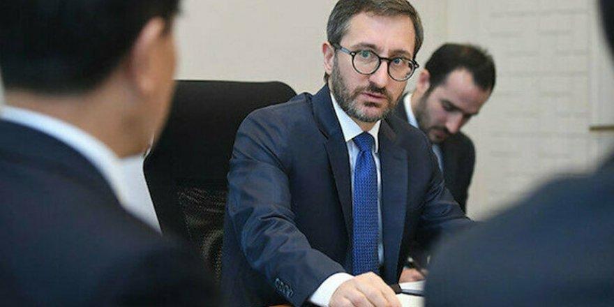 İletişim Başkanı Fahrettin Altun'dan Uluslararası Basın Enstitüsüne Eleştiri
