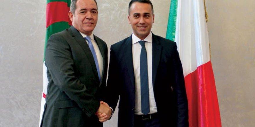İtalya ve Cezayir dışişleri bakanları, Libya'daki gelişmelerden endişe duyuyor