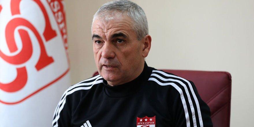 Sivasspor Teknik Direktörü Rıza Çalımbay'dan önemli açıklamalar!