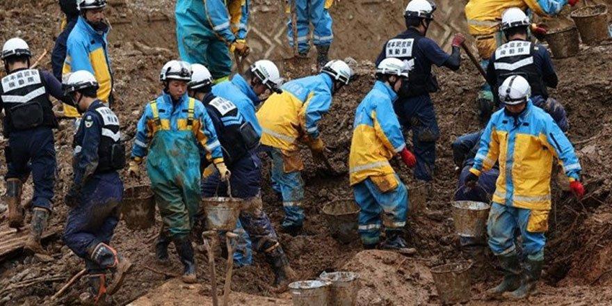Japonya'da sel ve heyelan felaketi! 63 kişi yaşamını yitirdi