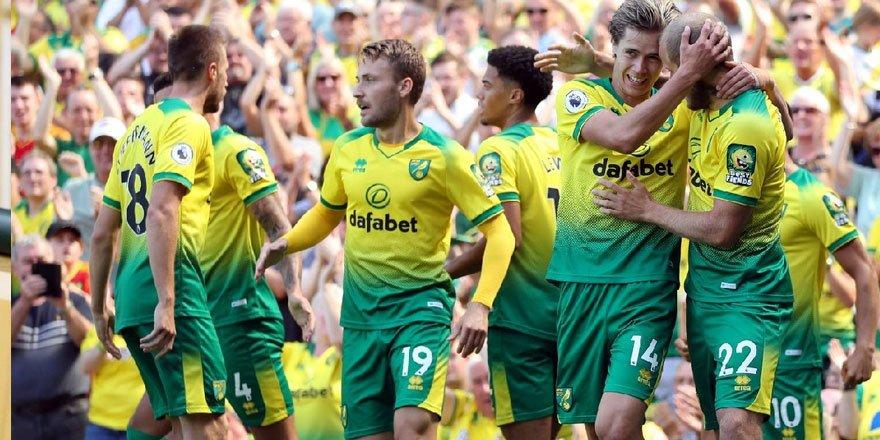 Premier Lig'den düşen ilk takım Norwich City oldu!