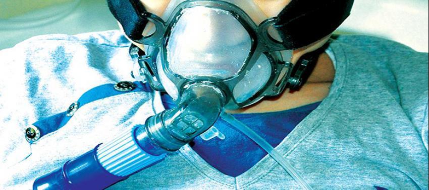 Solunum yetmezliğine yüksek akım oksijen tedavisi