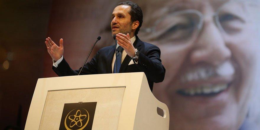 Fatih Erbakan: Cenabı Allah Mescid-i Aksa'nın da özgürlüğe kavuştuğu günleri göstersin