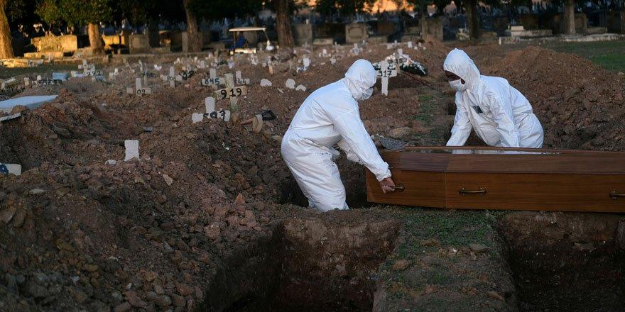 Son 24 saatte Brezilya'da 1437, Hindistan'da 904, Meksika'da 829 kişi hayatını kaybetti