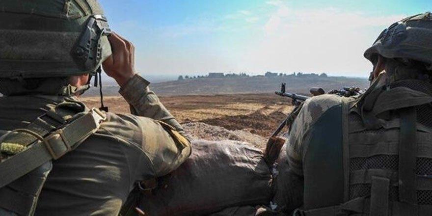 MSB Zeytin Dalı bölgesinde 2 teröristin gözaltına alındığını duyurdu!