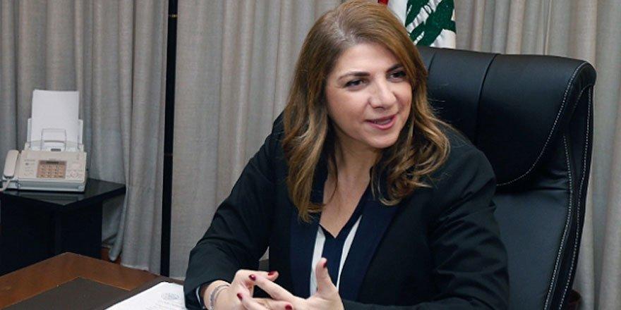 Lübnan Adalet Bakanı  Marie Claude Najm istifa etti!