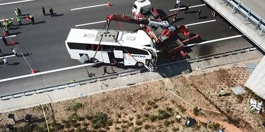 İstanbul'daki otobüs kazasında şoför kusurlu bulundu!