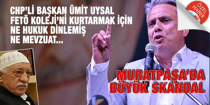 Muratpaşa'nın CHP'li Başkanı Ümit Uysal FETÖ'ye kıyak için mevzuatı da hukuku da Encümene çiğnetmiş