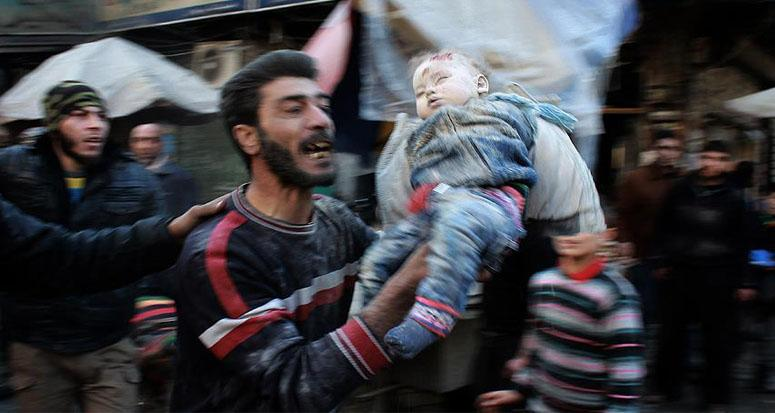 Halep'te Rus saldırısı: 7 ölü 20 yaralı