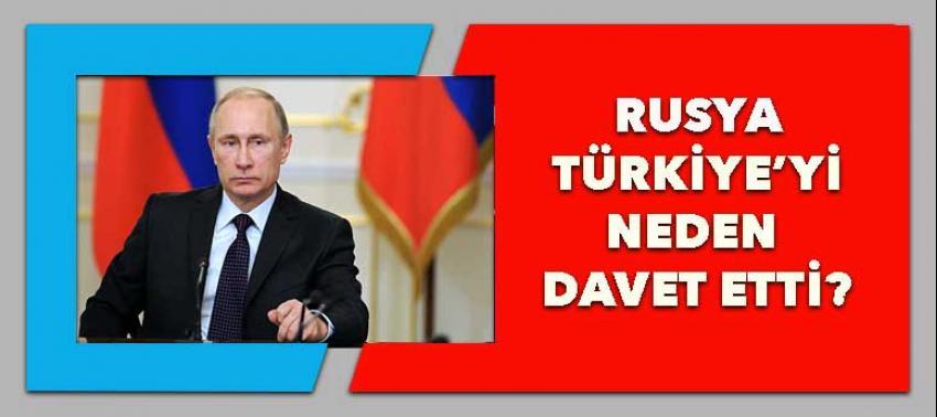 Rusya'dan Türkiye'ye davet!