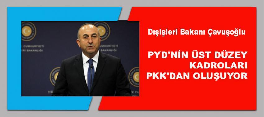 Çavuşoğlu: PYD'nin üst düzey kadroları PKK'dan oluşuyor