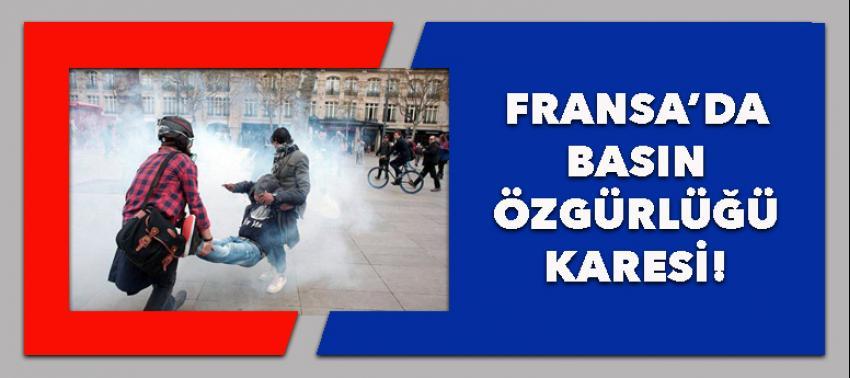 Fransa'da basın özgürlüğü bu demekmiş!