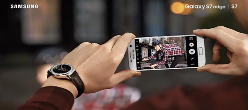 Samsung Galaxy S7 ve S7 edge ile anı bütünüyle yakalayın