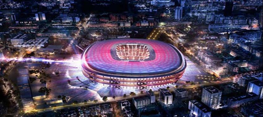 İşte Barcelona'nın yeni stadı!