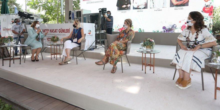 GastroAntep Hasat Günleri'nde Kadın Girişimciliği konulu panel düzenlendi!