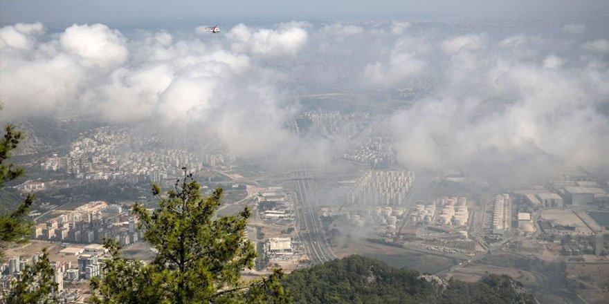 Antalya'da son 75 yılın en sıcak Eylül'ü! Nem bulutları kapladı