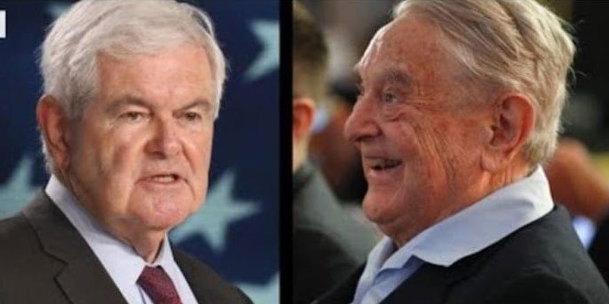 Fox News kanalında George Soros'u eleştiren siyasetçi Newt Gingrich susturuldu!