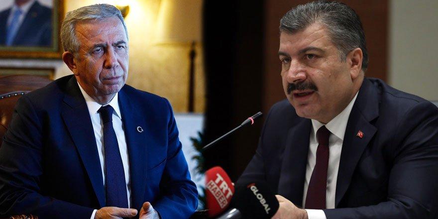 Sağlık Bakanı Koca Başkan Mansur Yavaş'a teşekkür etti!