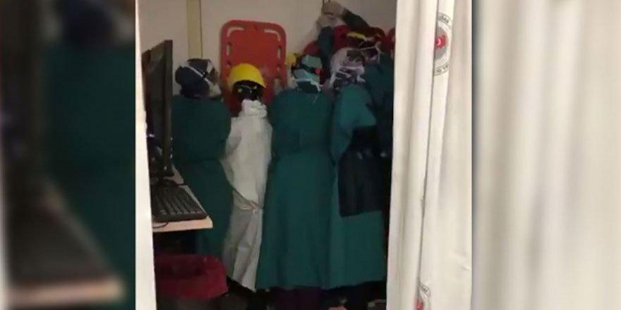 Keçiören'de sağlıkçılara saldırıya soruşturma