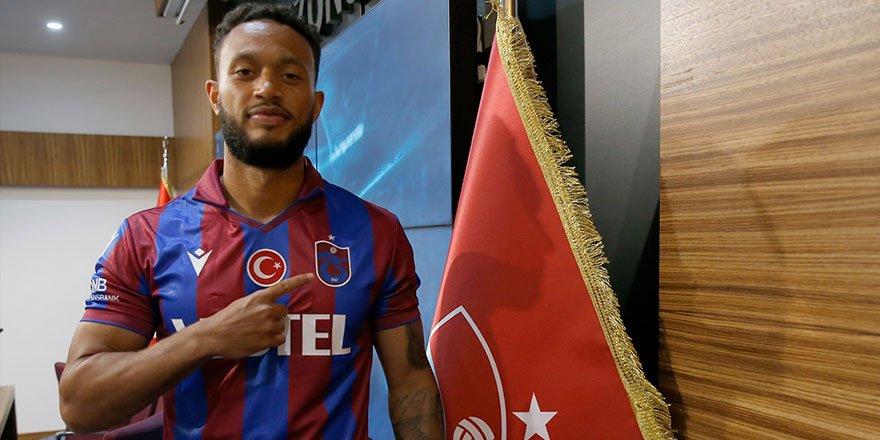 Trabzonspor'un yeni transferi Baker: Benim için yeni bir meydan okuma