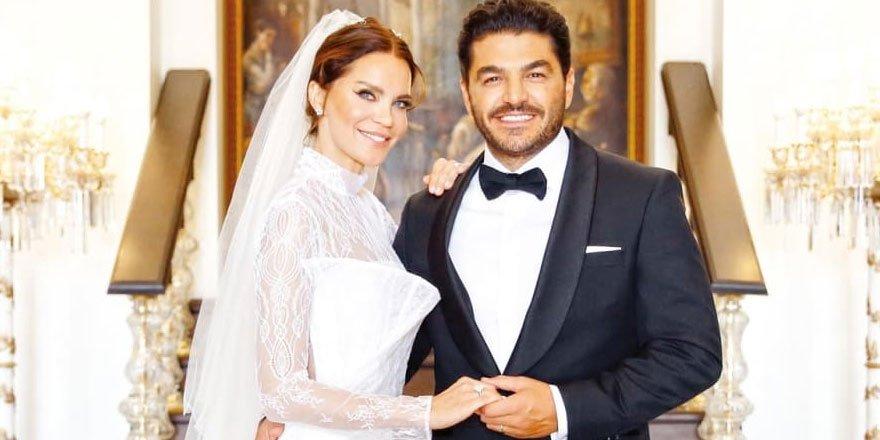 Ebru Şallı ve Uğur Akkuş evliliklerinde bir yılı geride bıraktı!