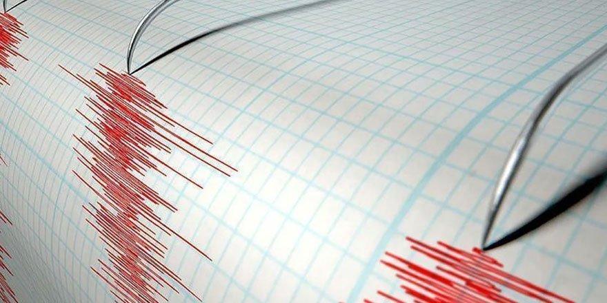 Ege Denizi'nde korkutan deprem! 4,4 büyüklüğünde sallandı