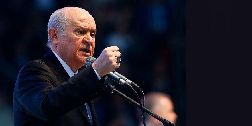 MHP lideri Bahçeli: Ermenistan'ın Türk milleti karşısında tutunma ihtimali yoktur