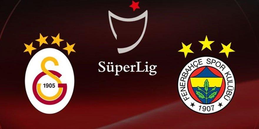 Galatasaray- Fenerbahçe derbisinin ilk 11'leri belli oldu!