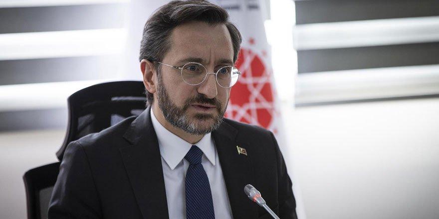 İletişim Başkanı Altun, Ermenistan'ın Azerbaycan'a saldırısını kınadı!
