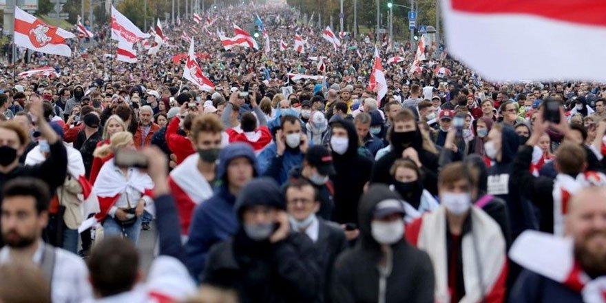 Belarus'ta Lukaşenko karşıtı gösteriler 7. haftasında