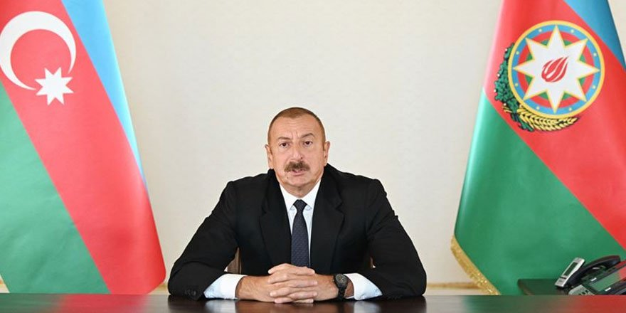 Azerbaycan lideri Aliyev: Uluslararası kuruluşlar, Paşinyan rejiminin yaptıklarını görmezden geliyor