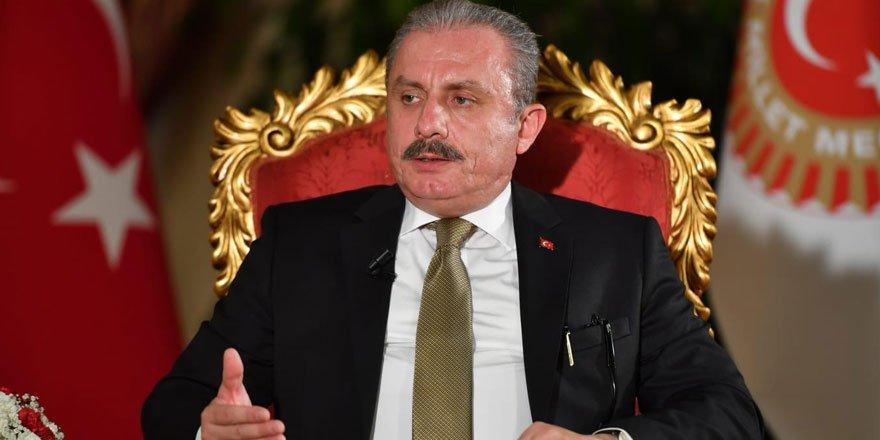 TBMM Başkanı Mustafa Şentop bazı suçlar için idam cezası istedi!