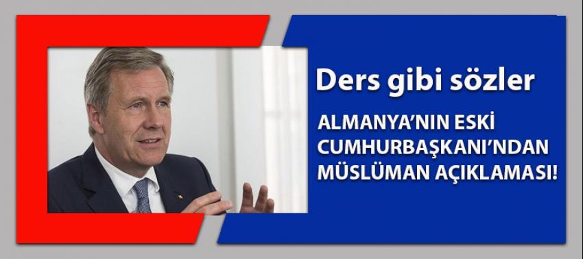 Alman eski liderden tüm İslam düşmanlarına ders!