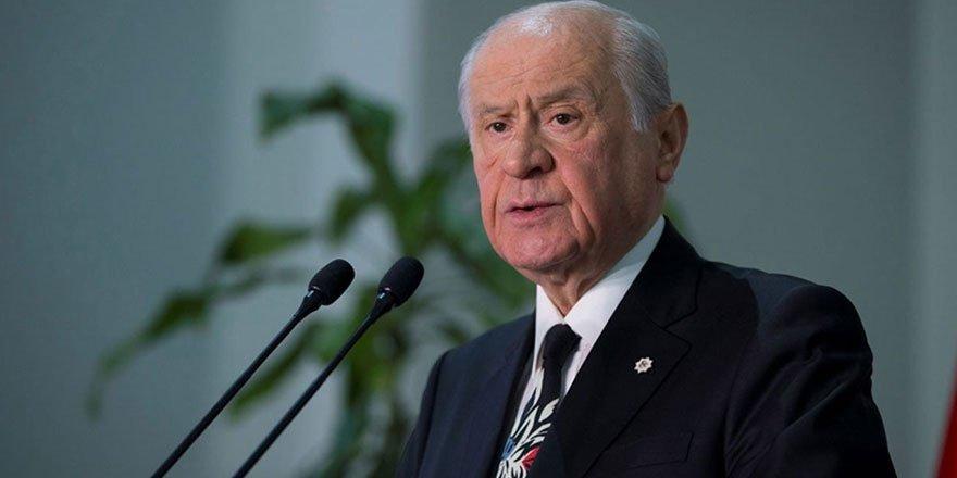 MHP lideri Bahçeli: Anayasa Mahkemesi yeniden yapılandırılmalıdır!