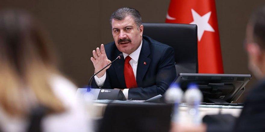 Sağlık Bakanı Koca: İstanbul'da vakalar son 1 ayda yüzde 50 arttı